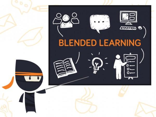 Blended learning lub B-learning ? mieszana (zintegrowana, hybrydowa) metoda kształcenia, łącząca tradycyjne metody nauki bezpośredni kontakt
